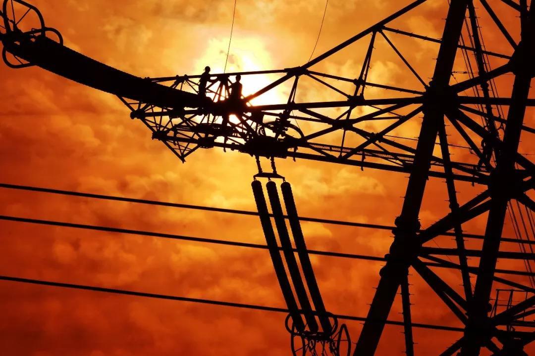 雄安特高压交流线路工程施工3标段率先完成全部铁塔组立施工