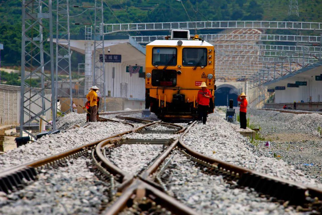 期待!衢寧鐵路福建段已全面進入精調施工階段